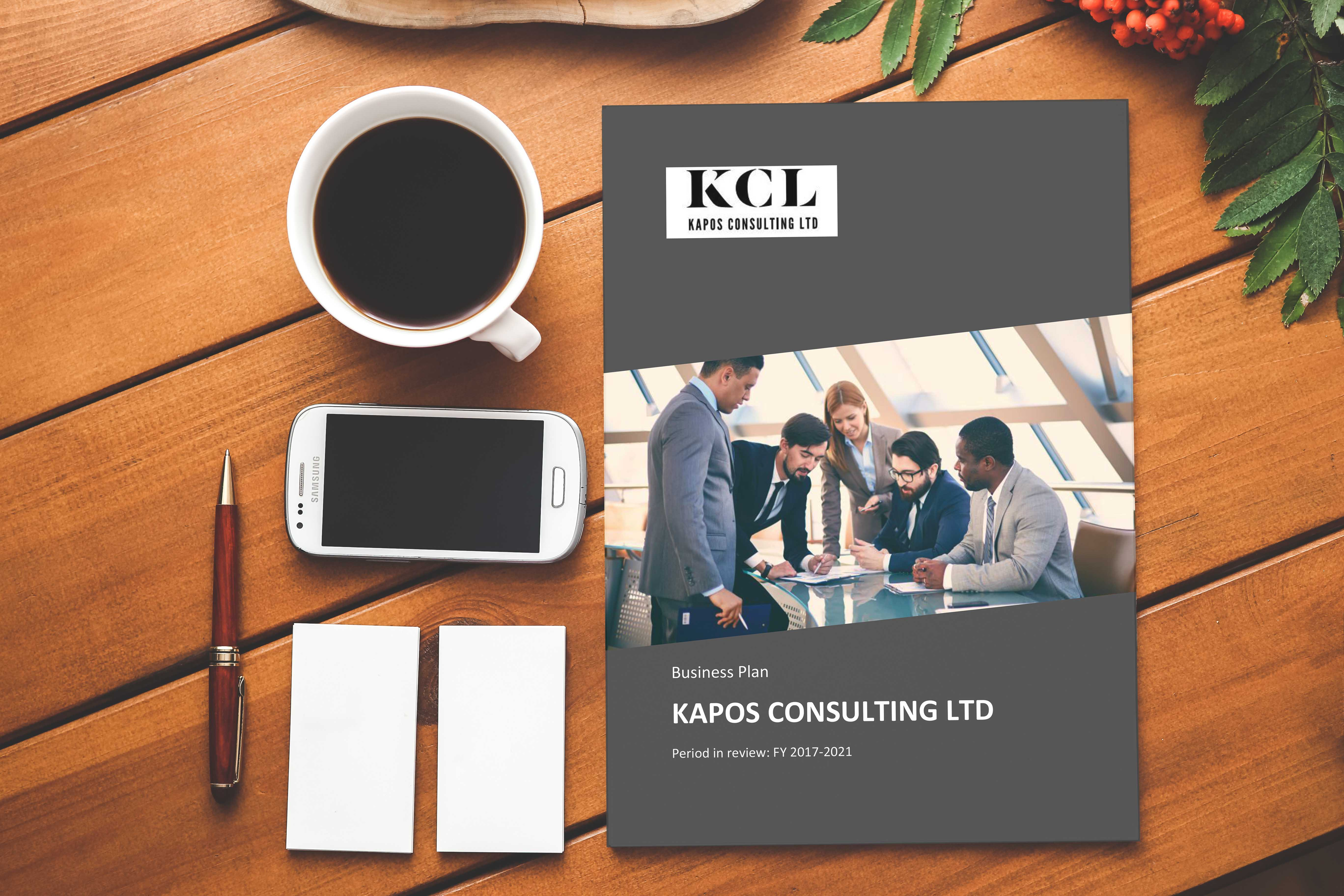 Sample Business Plan For Consulting Company